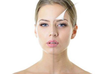 How does natural and synthetic collagen behave in my skin?